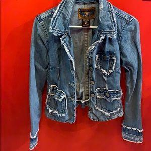 True Religion Denim jacket blazer